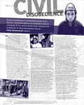 Cathy Butterworth Civil Disobedience  British Council On Tour - Issue 27 Feb 2006