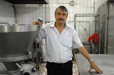 Kozma Kozmauoglu, Kozmaologu's Pork Butcher, Dolapdere, Istanbul