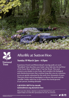 Come to Sutton Hoo this Sunday 19 March for Woodland and Talk
