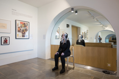 Two works at The Whitworth in Manchester in March
