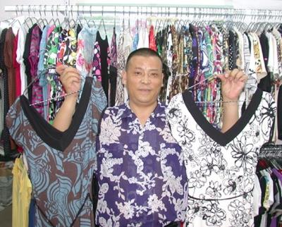 Wang Lin, Clothing Manufacturer & Wholesaler, Guangzhou